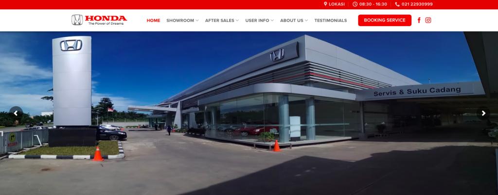 Launching Website Honda Imora Sentul